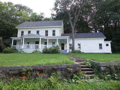Franklin Single Family Home For Sale: 30 Chance Pond Road