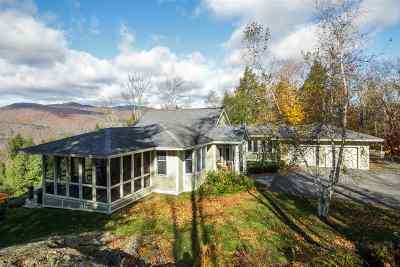 Waterbury Single Family Home For Sale: 231 West Pinnacle Ridge Road