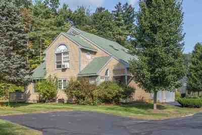 Hooksett Condo/Townhouse Active Under Contract: 2 Wedgewood Circle #17