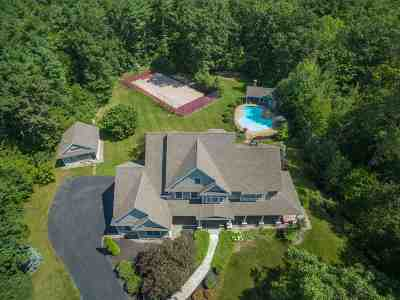 Belknap County, Carroll County, Cheshire County, Coos County, Grafton County, Hillsborough County, Merrimack County, Rockingham County, Strafford County, Sullivan County Single Family Home For Sale: 34 Heath Drive