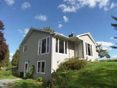 East Montpelier Single Family Home For Sale: 1500 Vt Route 14n