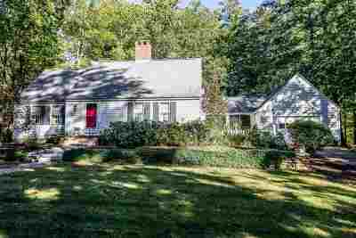 Goffstown Single Family Home Active Under Contract: 52 Summer Street