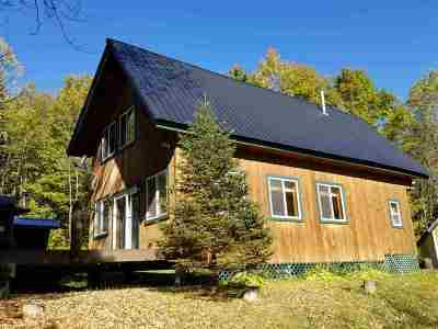 Caledonia County Single Family Home Active Under Contract: 579 Red School House Road