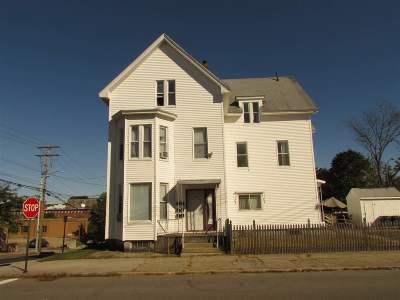 Manchester Multi Family Home For Sale: 259 Notre Dame Avenue