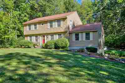 Merrimack Single Family Home Active Under Contract: 15 Marty Drive