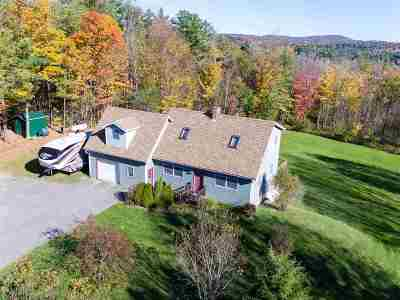 Hyde Park Single Family Home For Sale: 322 Fitch Hill Road