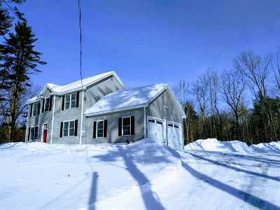 Francestown Single Family Home Active Under Contract: 362 Bennington Rd