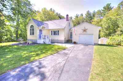 Merrimack Single Family Home Active Under Contract: 18 Winchester Drive