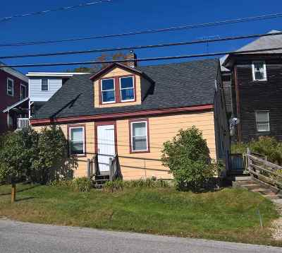Bristol Single Family Home Active Under Contract: 33 Central Street