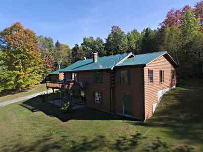 Caledonia County Single Family Home For Sale: 184 Birchwood Heights Lane