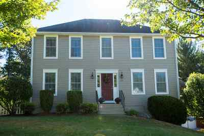 Hudson Single Family Home Active Under Contract: 25 Bear Path Lane