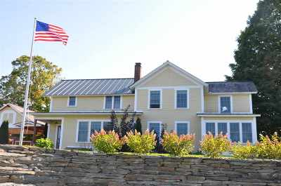 Poultney Single Family Home For Sale: 18 Ward Road