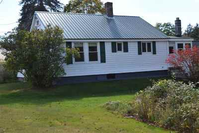 Warren Single Family Home Active Under Contract: 297 Nh Route 25 Road