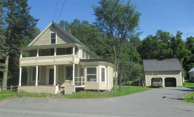 Calais Multi Family Home For Sale: 4488 Vt Route 14 Route