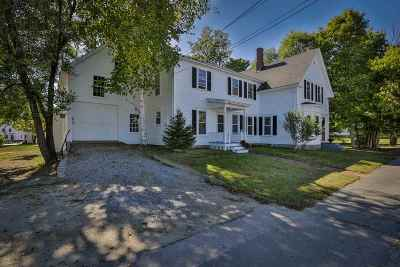 Goffstown Single Family Home Active Under Contract: 49 N Mast Street
