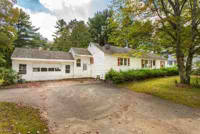 Somersworth Single Family Home Active Under Contract: 116 Blackwater Road