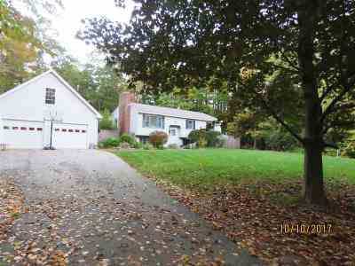 Epsom Single Family Home Active Under Contract: 201 North Road
