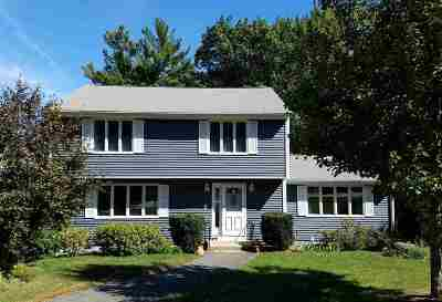 Nashua Single Family Home Active Under Contract: 29 Cider Lane