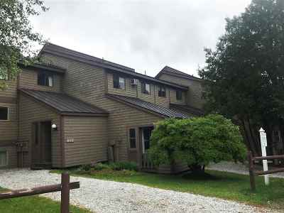 Cambridge Condo/Townhouse For Sale: 13 Mountainview At Smugglers Notch Resort #M-13