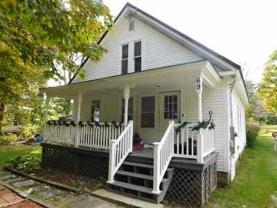 Rumney Single Family Home For Sale: 69 Water Street