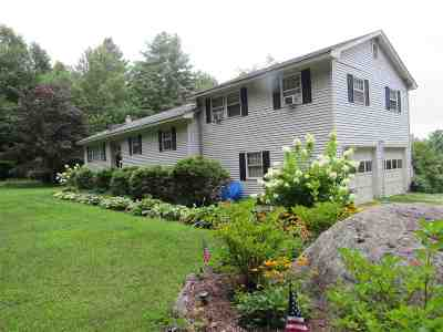 Pittsford Single Family Home For Sale: 1207 Goat Farm Road