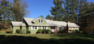 Woodstock Single Family Home For Sale: 154 Lost River Road