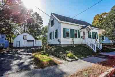 Concord Single Family Home Active Under Contract: 13 Monroe Street