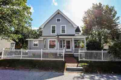 Belknap County, Carroll County, Cheshire County, Coos County, Grafton County, Hillsborough County, Merrimack County, Rockingham County, Strafford County, Sullivan County Single Family Home For Sale: 569 Merrimack Street