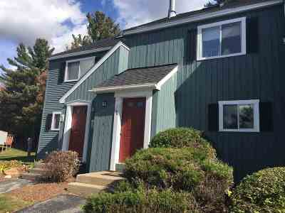 Woodstock NH Condo/Townhouse Active Under Contract: $194,900