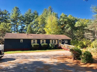 Amherst Single Family Home Active Under Contract: 99 Merrimack Road