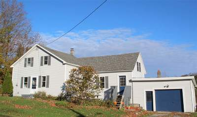 Fairfield Single Family Home For Sale: 4389 Vt Route 36 Route