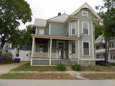 Manchester Multi Family Home For Sale: 242 Prospect Street