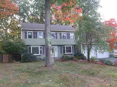 Nashua Single Family Home For Sale: 70 Timberline Drive
