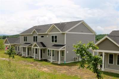 Hinesburg Condo/Townhouse For Sale: 60 Redbud Lane