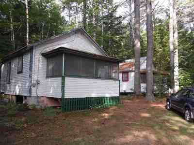 Woodstock Single Family Home For Sale: 558 Daniel Webster Highway Highway
