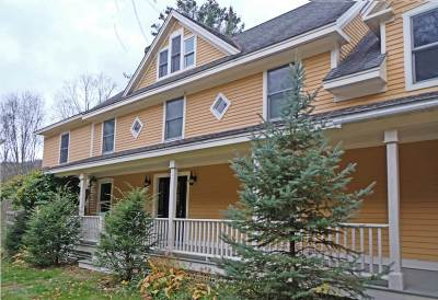 Stowe Single Family Home For Sale: 1338 Moscow Road Road