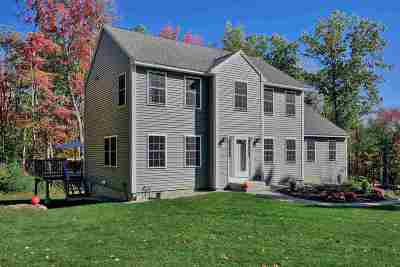 Hooksett Single Family Home Active Under Contract: 1282 Smyth Road