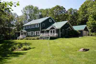 Chittenden Single Family Home For Sale: 51 Dam Road