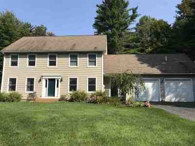Montpelier Single Family Home Active Under Contract: 150 Connor Road