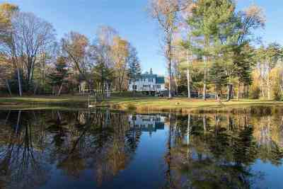 Thornton Single Family Home For Sale: 312 Upper Mad River Road