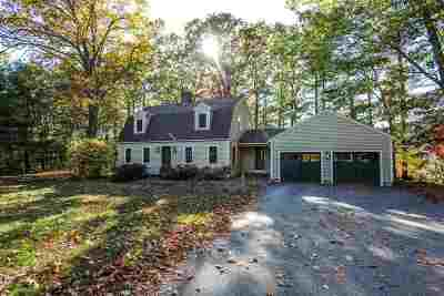 Bow Single Family Home Active Under Contract: 157 Hooksett Turnpike