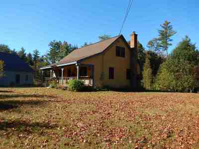 Single Family Home For Sale: 1596 King Hill Road