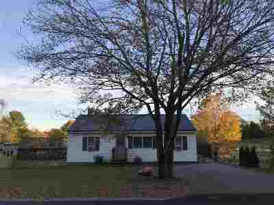 Dover Single Family Home Active Under Contract: 144 County Farm Cross Road