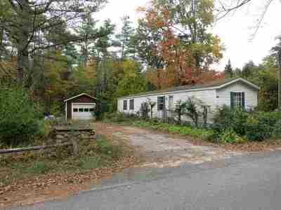 Moultonborough Mobile/Manufactured For Sale: 15 Lee Road