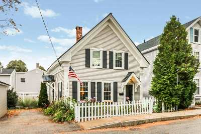 Kittery Single Family Home For Sale: 10 Pleasant Street