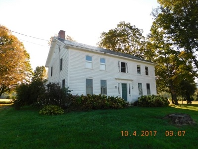 Pawlet Single Family Home For Sale: 2592 Vt Route 133 Route