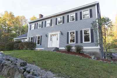 Bedford Single Family Home Active Under Contract: 180 Hitching Post Lane