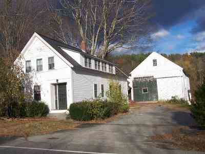 Bradford Single Family Home For Sale: 2190 Route 114 Highway