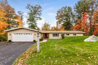 Hooksett Single Family Home Active Under Contract: 21 Golden Gate Drive