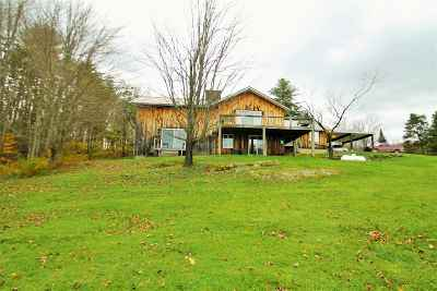 East Montpelier Single Family Home For Sale: 785 Jacobs Road